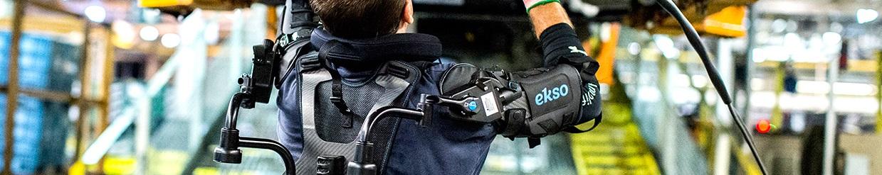 samenwerken met robots - Exoskeleton Technology Pilot